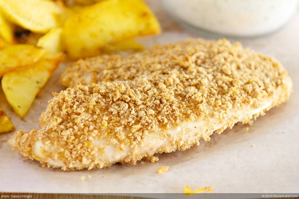 Baked fish and chips recipe for Baked fish and chips