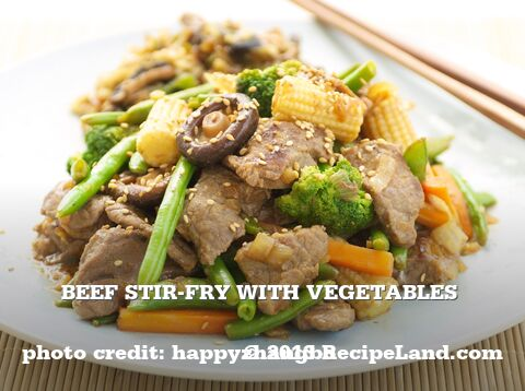 Beef Stir-Fry with Vegetables