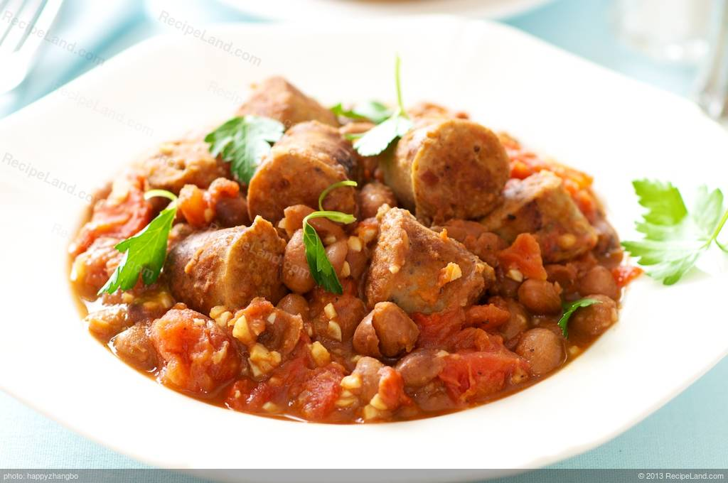 Cannellini Beans with Italian Sausage Recipe
