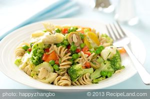 Vegetable Pasta Salad**