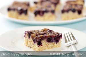 Blueberry Crunch Coffee Cake