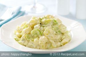 Avocado and Potato Salad with Horseradish