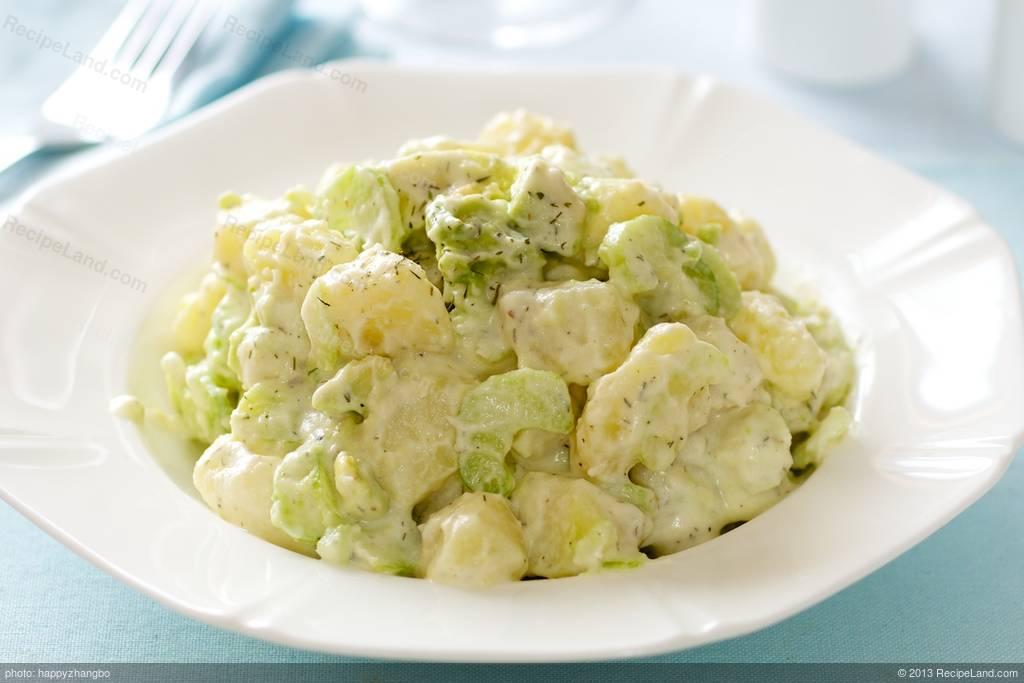 Avocado and Potato Salad with Horseradish Recipe