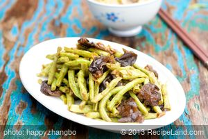 Stir-Fried Longbeans