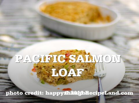 Pacific Salmon Loaf