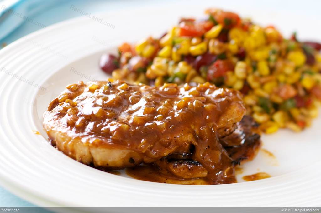 Honey Dijon Glazed Pork Chops Recipe