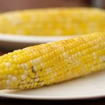Garlic-Lemon Corn Cob