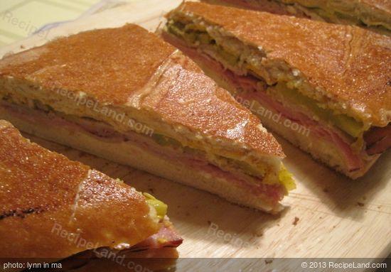 Grilled Cuban Sandwich Recipe | RecipeLand.com