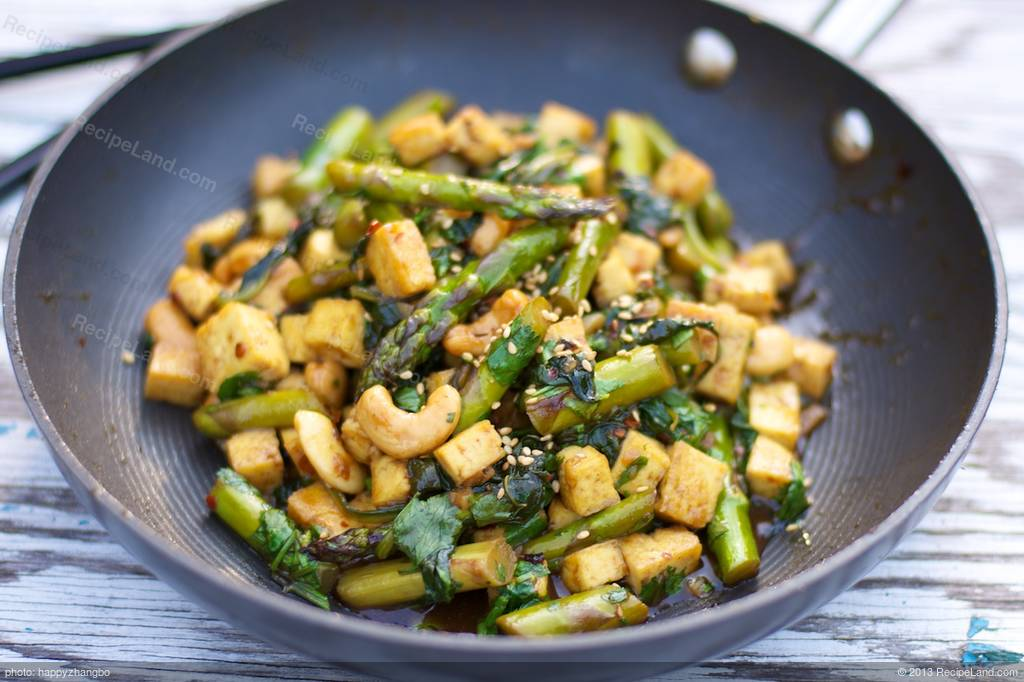 Asian Asparagus Recipes Sesame Oil