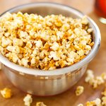 Three-Pepper Popcorn