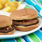 4th of July Grilled Portobello Burgers