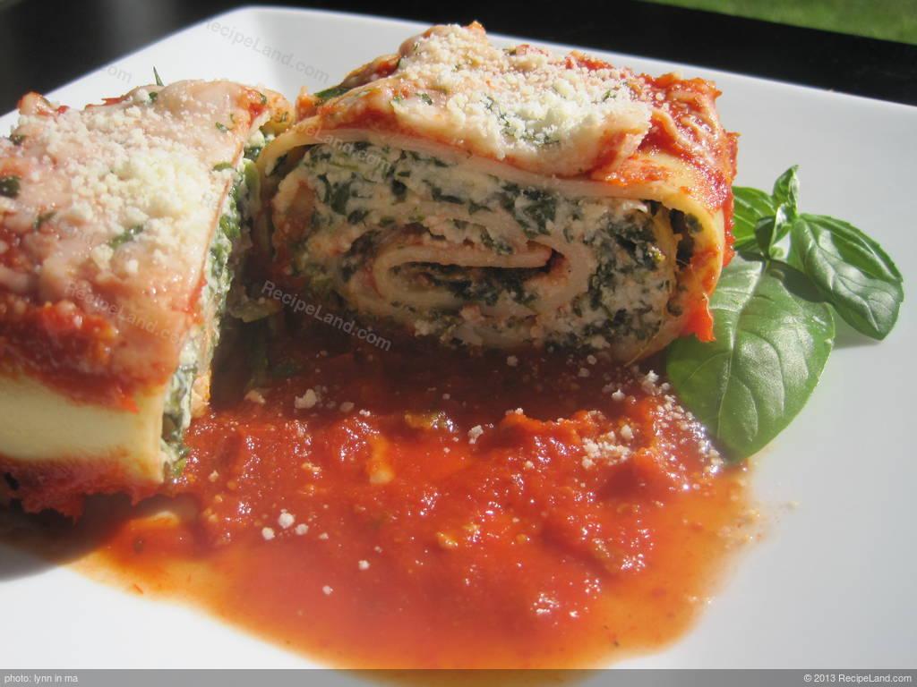 Spinach Roll Ups Recipe Recipeland Com