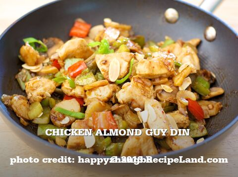 Chicken Almond Guy Din