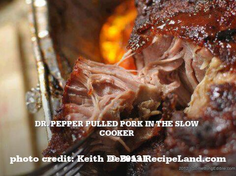 Dr. Pepper Pulled Pork in the Slow Cooker