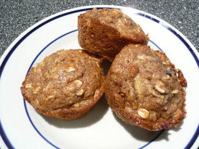 Autumn Apple Muffins
