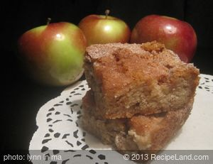 Second Day Apple Squares