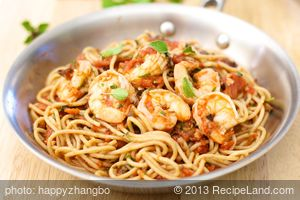 Saucy Shrimp and Pasta