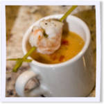 Lobster and Shrimp Bisque with Fresh Tarragon