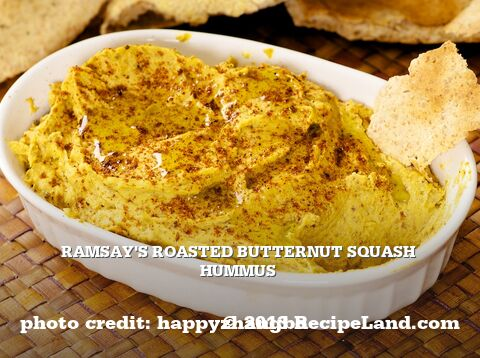 Ramsay's Roasted Butternut Squash Hummus