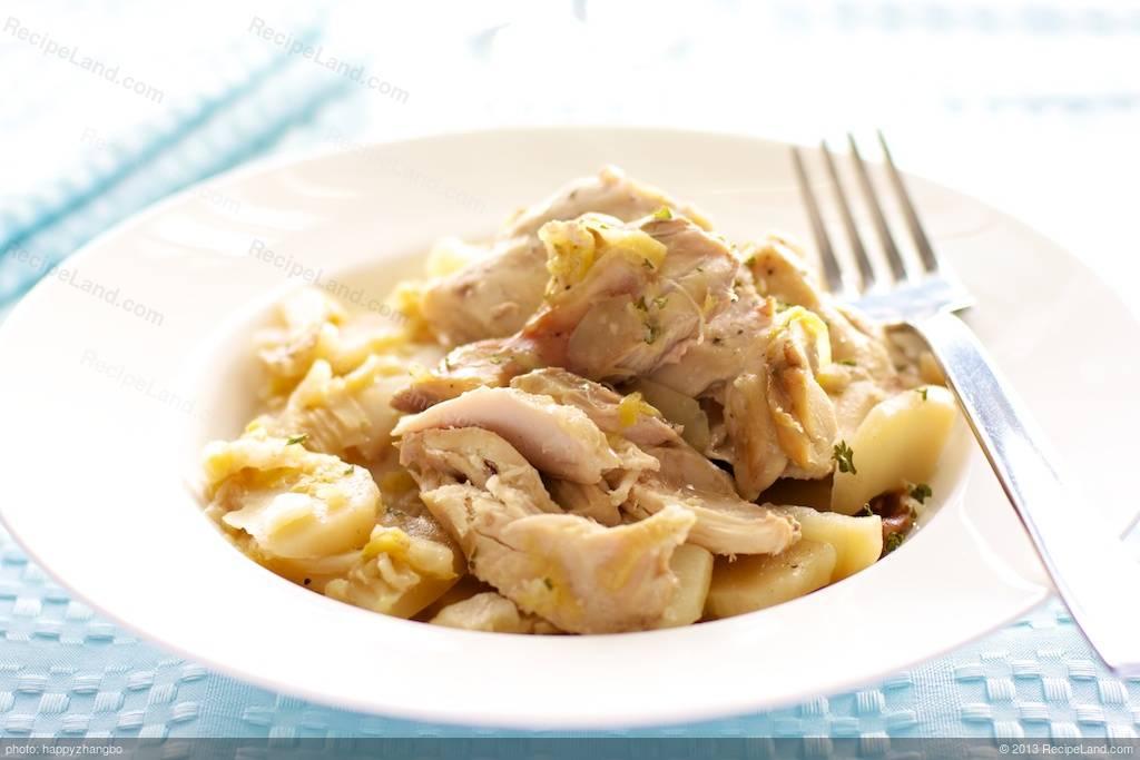 Potato Leek Chicken Recipe | RecipeLand.com