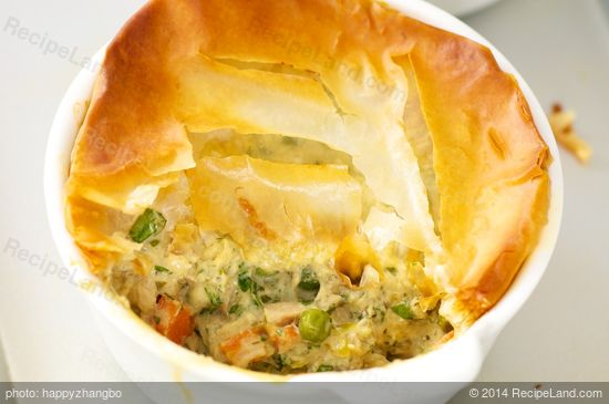 Deep-Dish Leftover Turkey Pot Pie