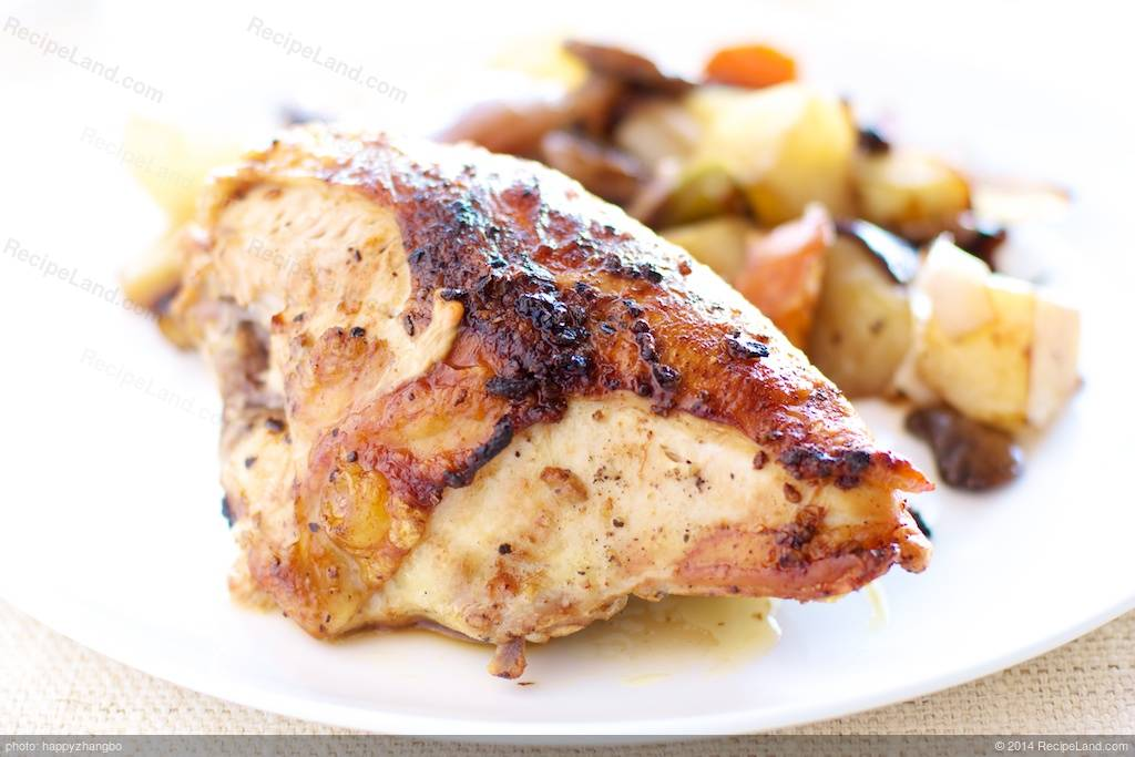 Oven Roasted Chicken With New Potatoes Recipe