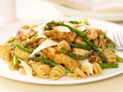 Asparagus and Chicken Pasta