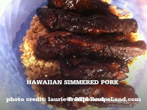 Hawaiian Simmered Pork