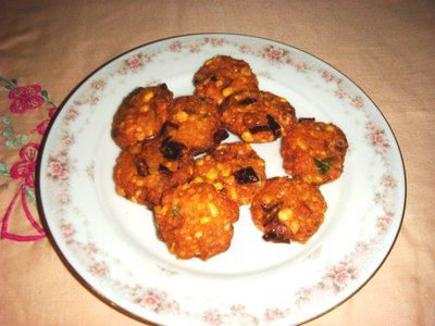 Homemade Chana- Dhal Vada