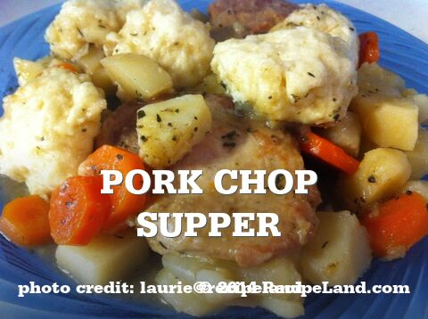 Pork Chop Supper