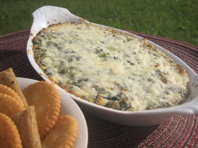 Hot Spinach and Asiago Dip