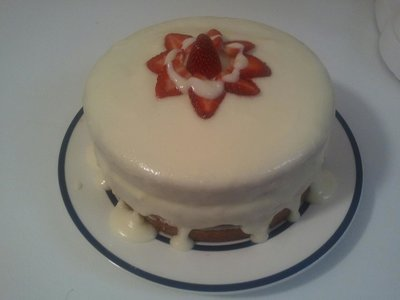Ultimate Strawberry Surprise Cake
