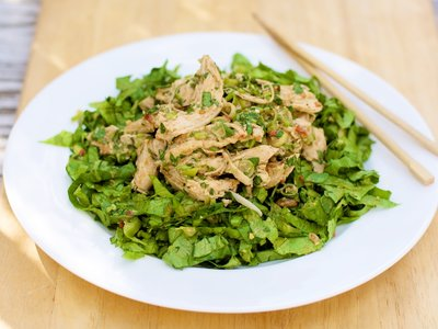 Quick Chinese Chicken Salad