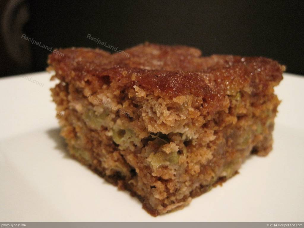 Easy Delicious Rhubarb Cake Recipe