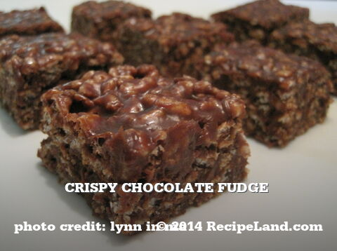 Crispy Chocolate Fudge