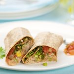 Bean and Rice Burritos (Whole Wheat)