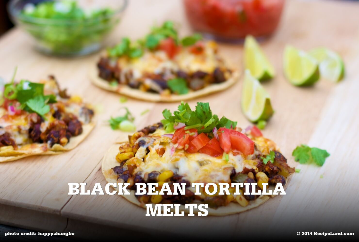 Black Bean Tortilla Melts
