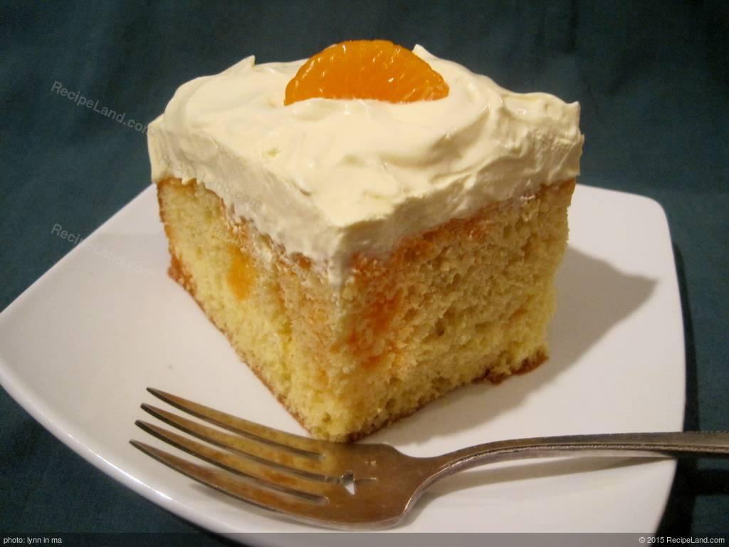 how to make a creamsicle cake