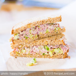 Absolute Best Ham Salad
