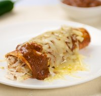 Quick and Easy Cheese Or Chicken Enchiladas