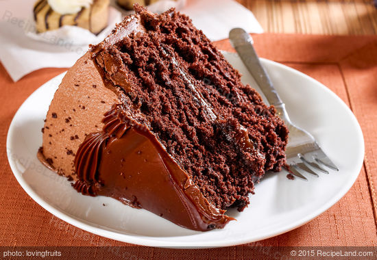 Easy Sour Milk Chocolate Cake Recipe