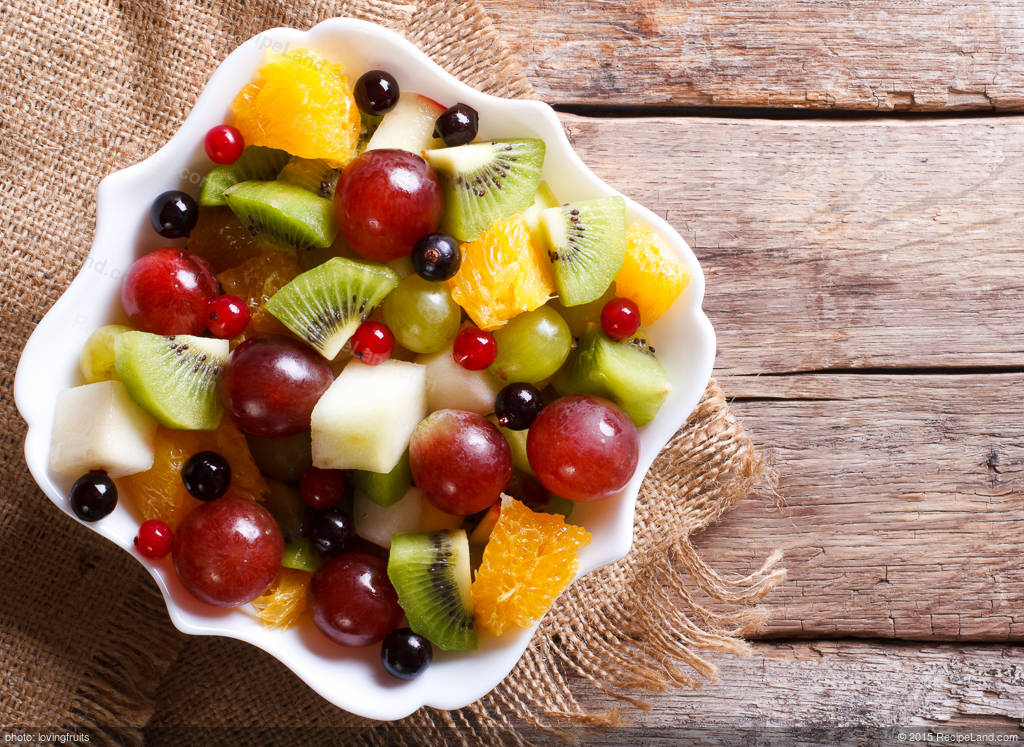 Sacramento Fruit Bowl Recipe