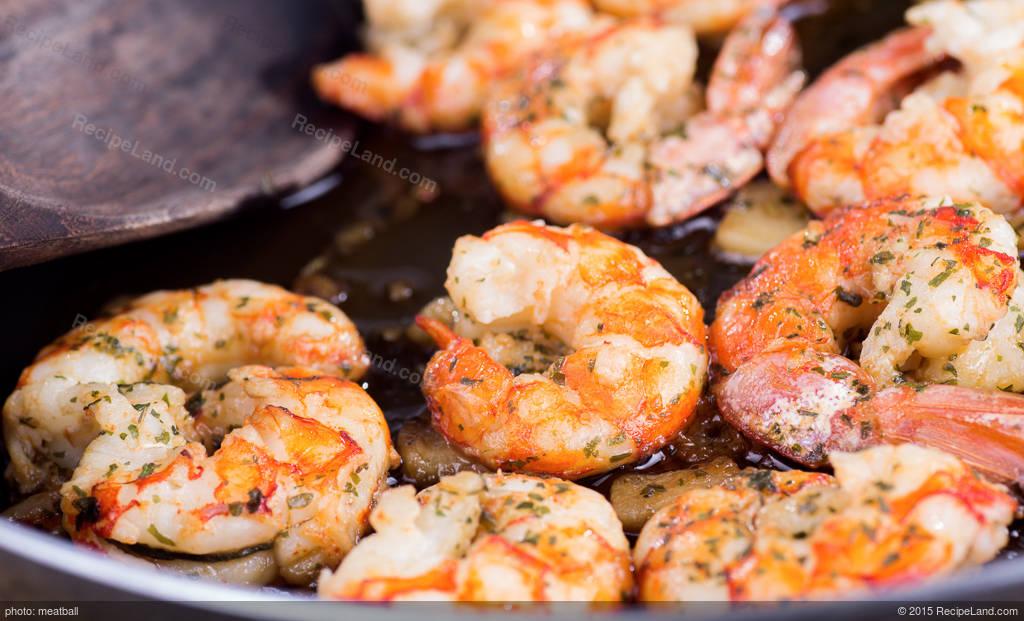 Shrimp Scampi Bake Recipe | RecipeLand.com
