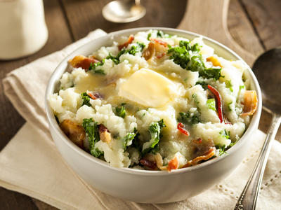 Colcannon (Traditional Irish Dish)