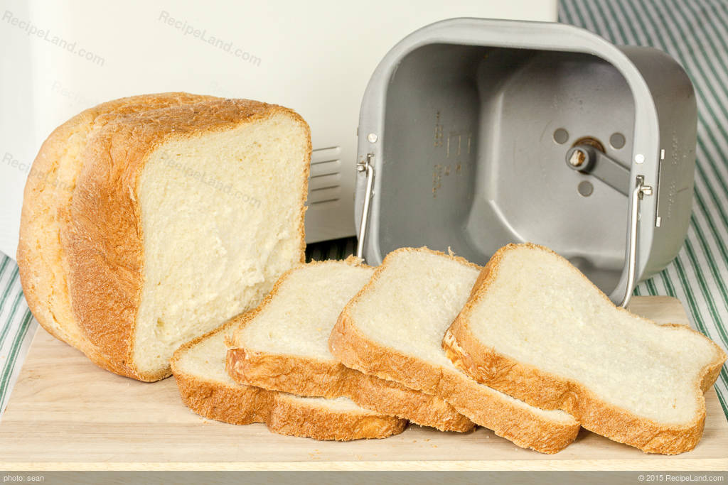 white bread recipe for bread machine
