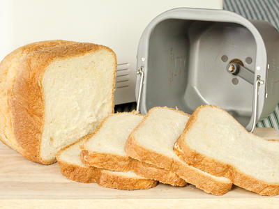 White Bread For Bread Machine
