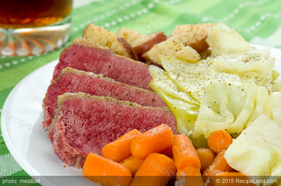 Dublin Sunday Corned Beef and Cabbage