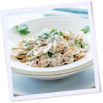Easy Herbed Pasta for Two recipe