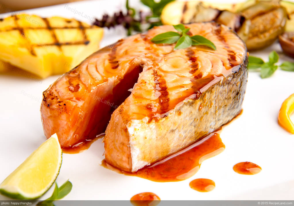 Grilled whole salmon fillet recipe for How to grill fish fillet