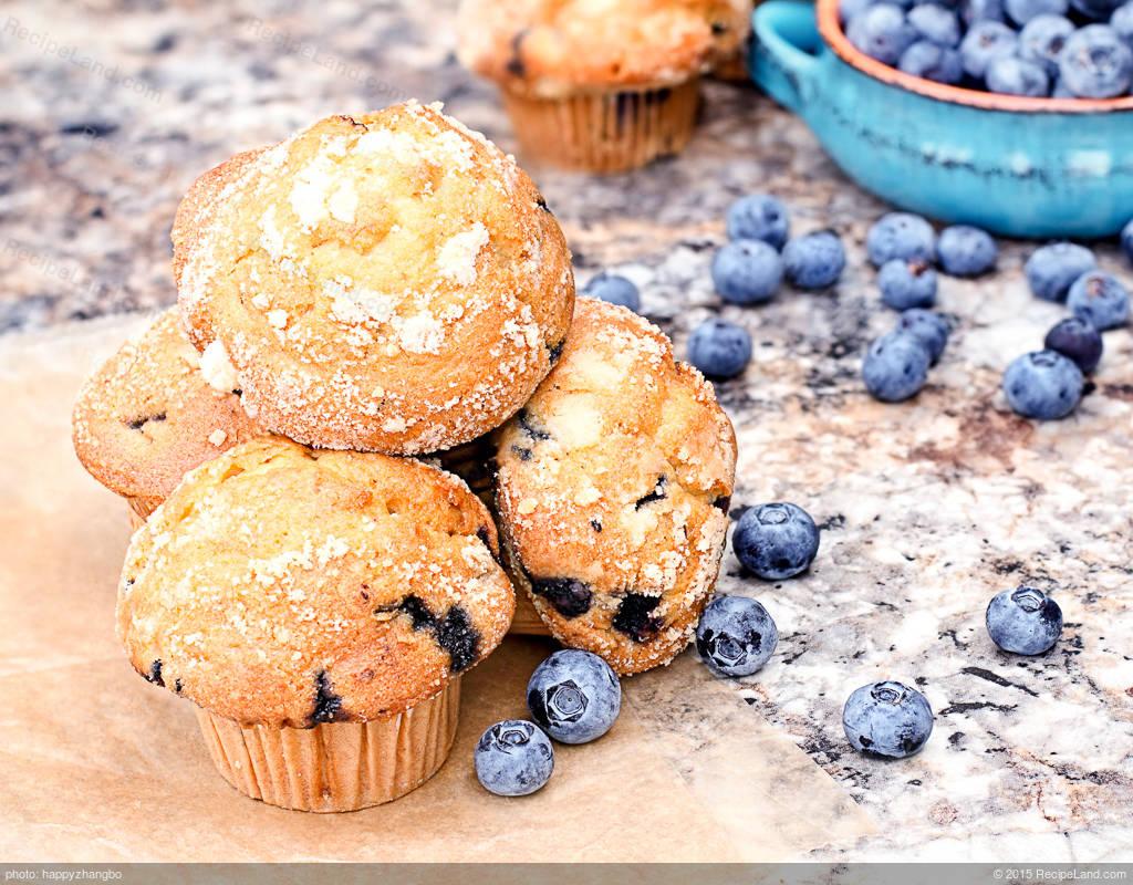 all american blueberry muffins recipe